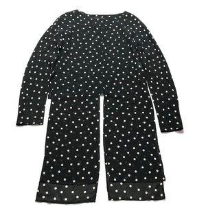 Yohji Yamamoto Vintage Polka Dot Tunic Top